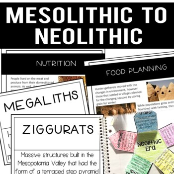 Early Civilizations: Transition from Mesolithic to Neolithic