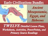 Early Civilizations Unit Bundle: Mesopotamia, Egypt, and H