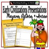 Early Civlilization Presentations