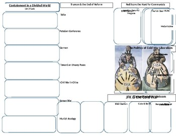 Early Cold War Graphic Organizer