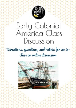 Early Colonial America Discussion