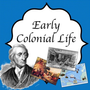 Early colonial life guided PowerPoint lessons