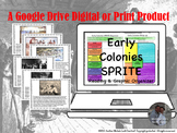 Early Colonies SPRITE for Google Drive Classroom Interacti