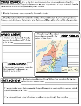 Early Colonization Assessment