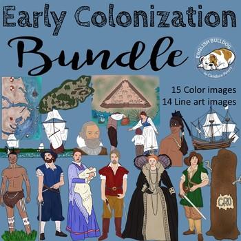 Early Colonization Clip Art Bundle