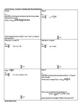 Derivatives up to Product Quotient & Implicit AB BC Calculus Circuit