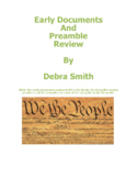Early Documents and Preamble Review