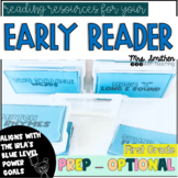 Early Reader Activities - First Grade Reading Centers {IRL