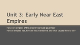 Early East Empires Notes