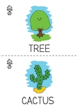 Roboto Kids Nature Vocabulary Flashcards