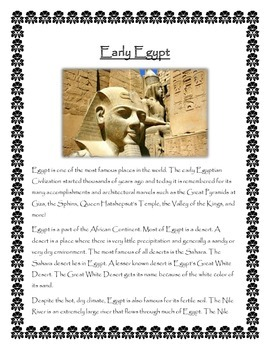 Egypt: Early Egypt