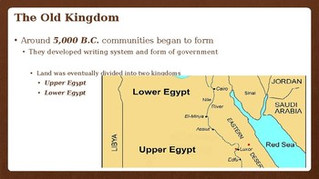 Early Egypt Powerpoint