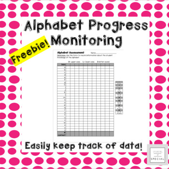 Early Elementary Alphabet Assessment