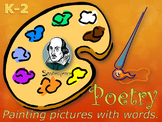 Early Elementary Art Lesson Plan & Presentation: Poetry Month and Art