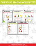 Early Elementary Christmas Reading Worksheets