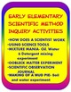 Early Elementary Introduction to Scientific Method STEM Inquiry Activities