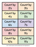 Early Elementary Oral Math Memorization and Skill Cards