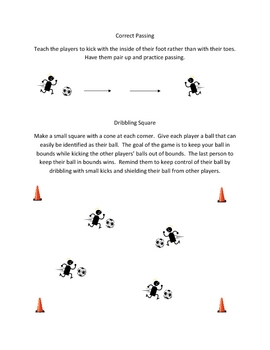 Early Elementary Soccer Drills