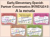 Early Elementary Spanish Partner Conversation BUNDLE #2 (A