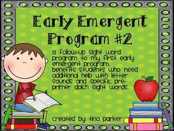 Early Emergent #2 (Sight Word Mini Books)