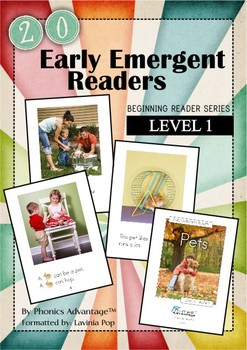 Early Emergent Readers - Level 1
