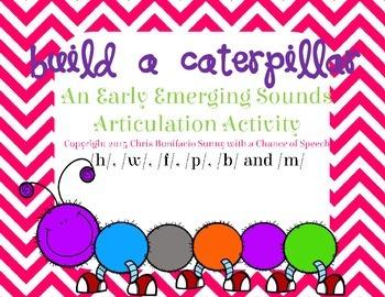Early Emerging Articulation Caterpillars