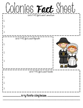 Early English Settlemets Activities
