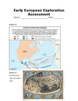 Early European Exploration Assessment