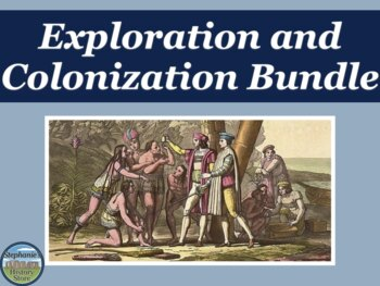 European Exploration and Colonization Bundle