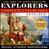 Early European Explorers Bundle / Columbus, Balboa, Cartie