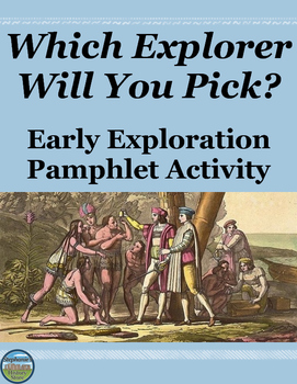 Early European Exploration Pamphlet Activity