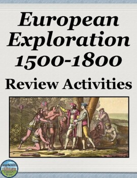 Early European Exploration Review Activities