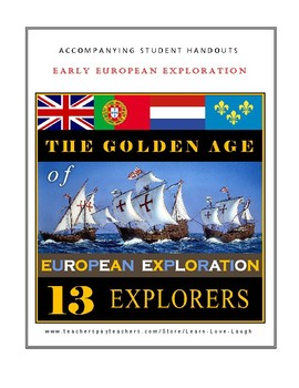 Early European Explorers: The Age of Exploration / 20 Student Worksheets
