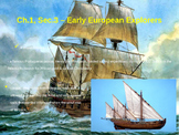 Creating America Chapter 1, Section 3 - Early European Explorers notes