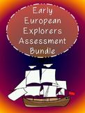 Early European Explorers Assessment Bundle