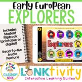 Early European Explorers LINKtivity | Digital Guide | Distance Learning
