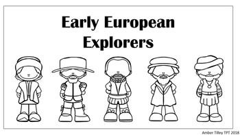 Early European Explorers Flip Book