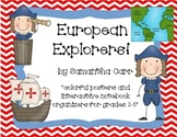 Interactive Notebook Activities & Colorful Charts for Earl