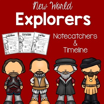 Early European Explorers Notecatchers and Timeline
