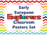 Early European Explorers Poster Set