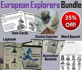 Early European Explorers Task Cards and Activities Bundle