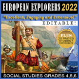 Early European Explorers ⭐ Exploration ⭐ 35% OFF SALE ⭐Balboa ⭐ Cabot ⭐ Columbus