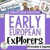 European Explorers & Age of Exploration   Print or Digital