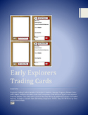 Early European Explorers Trading Cards