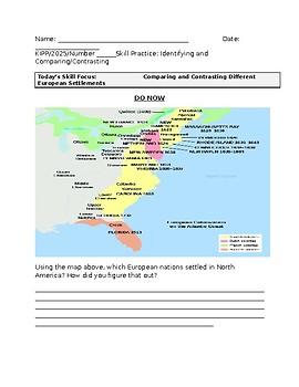 Early European Settlements in America