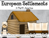 Early European Settlements in North America Brochure