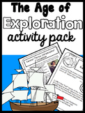 The Explorers: An Age of Exploration Mini-Unit including 12 centers