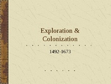 Early Exploration and Colonization Powerpoint