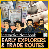 Age of Exploration Distance Learning Interactive Notebook | Trade Routes