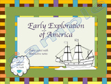 Early Exploration power point and Study Guide